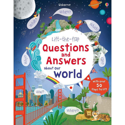 Lift-the-flap Questions and Answers about Our World - TOYTAG