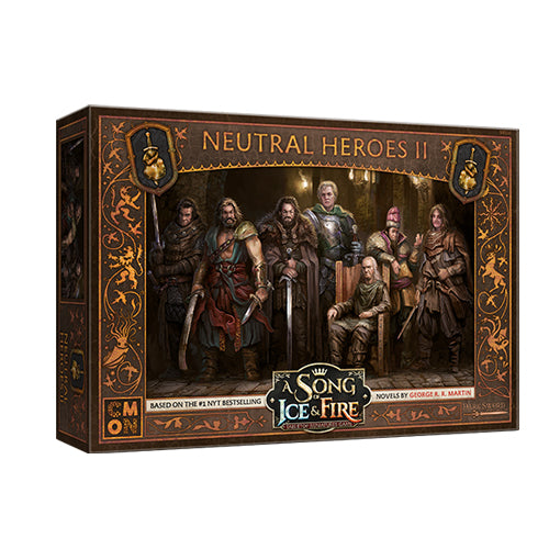 A Song of Ice and Fire : Neutral Heroes 2 Unit Box