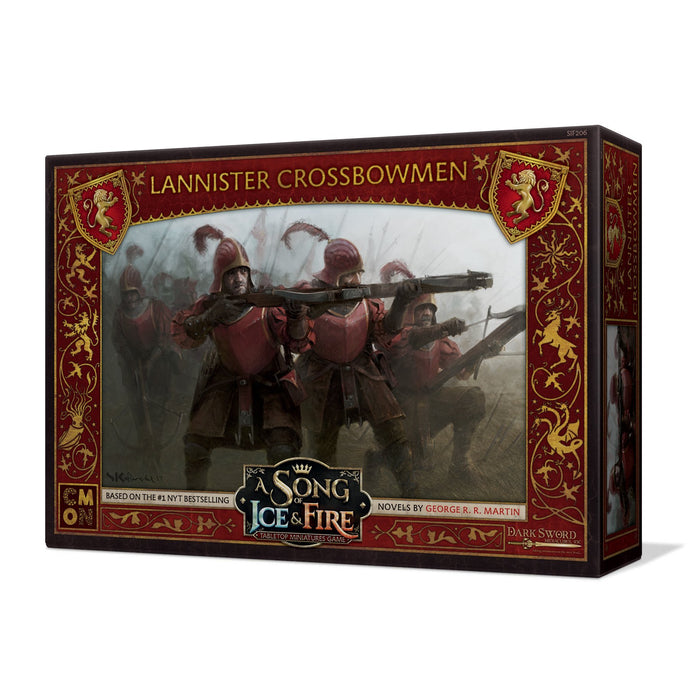 A Song of Ice and Fire: Lannister Crossbowmen Unit Box - TOYTAG