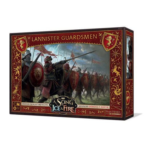 A Song of Ice and Fire: Lannister Guardsmen Unit Box - TOYTAG