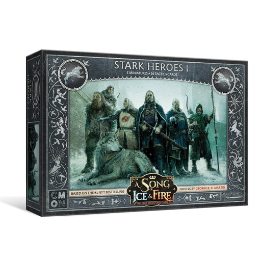 A Song of Ice and Fire: Stark Heroes Box 1 Unit Box - TOYTAG