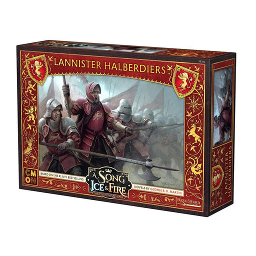A Song of Ice and Fire: Lannister Halberdiers Unit Box - TOYTAG