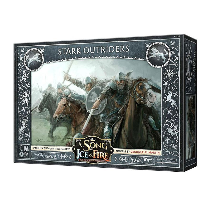 A Song of Ice and Fire: Stark Outriders Unit Box - TOYTAG