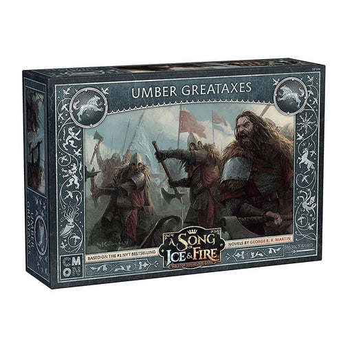 A Song of Ice and Fire: Umber Greataxes Unit Box - TOYTAG