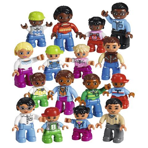 LEGO World People Set