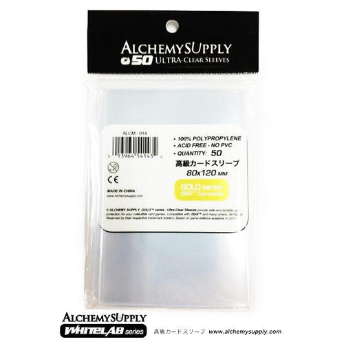 Alchemy Supply Premium Card Sleeves: Dixit Card Size (50)