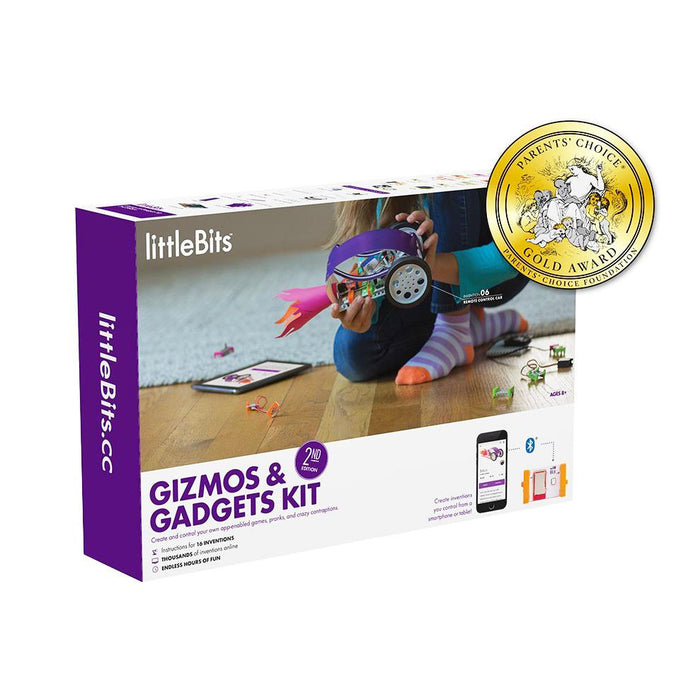 littleBits Gizmos & Gadgets Kit - 2nd Edition