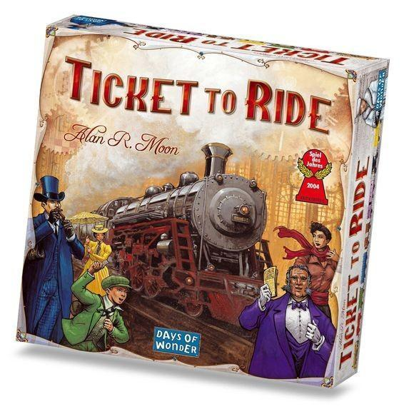Ticket to Ride - TOYTAG