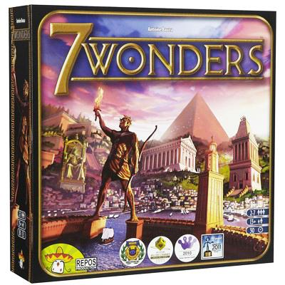 7 Wonders Board Game - TOYTAG