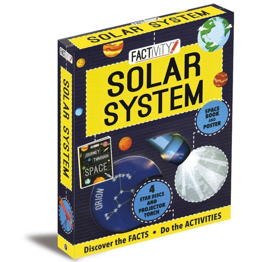 Factivity Solar System: Discover the Facts, Do the Activities (Factivity Kit Standard) - TOYTAG