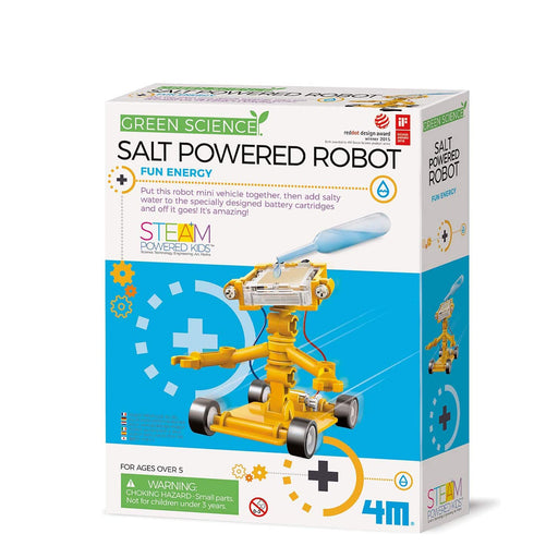 4M Green Science Salt Water Powered Robot Kit