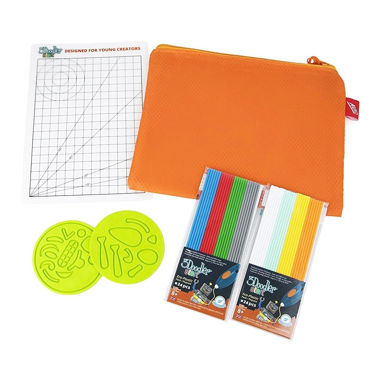 3Doodler Start Pencil Case Accessories Kit - TOYTAG