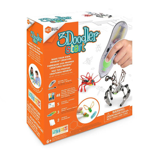 3Doodler Start Make Your Own HEXBUG® Creature 3D Printing Pen Set - TOYTAG
