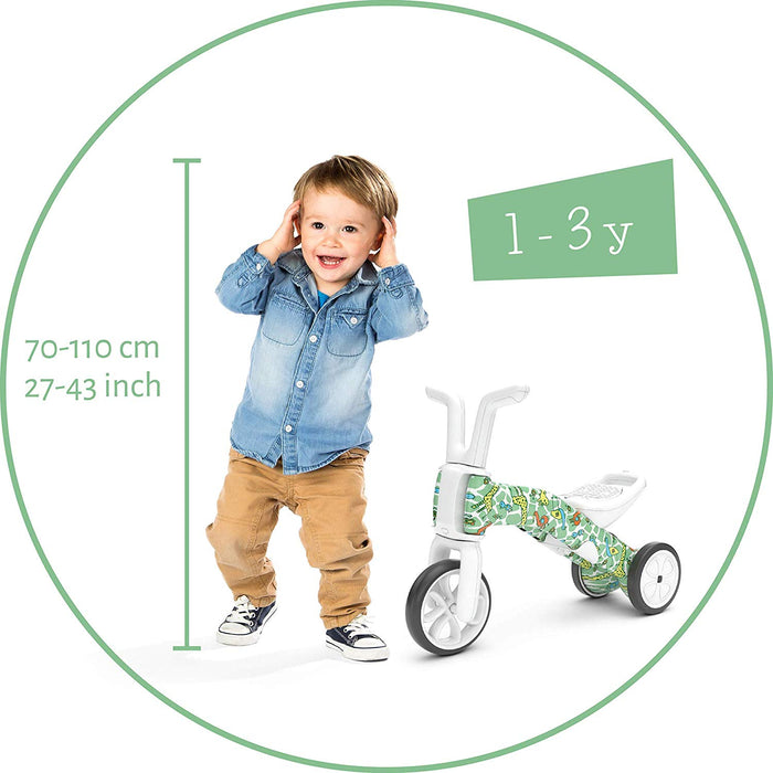 Chillafish Bunzi 2-in-1 Gradual Balance Bike FAD edition (Giraffiti)