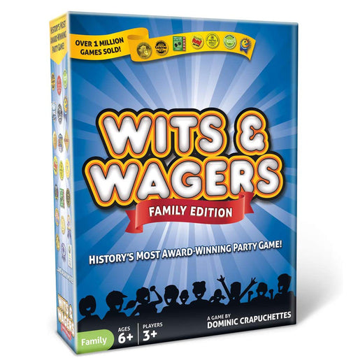 Wits & Wagers Family Edition (Kid Friendly)
