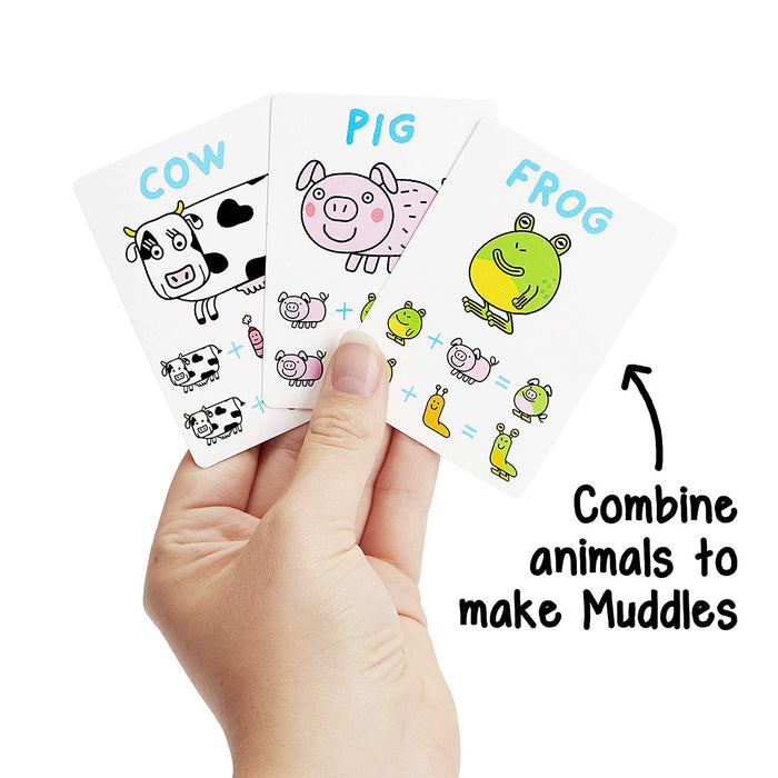 The Muddles: A Curious Creature-Making Kids Card Game
