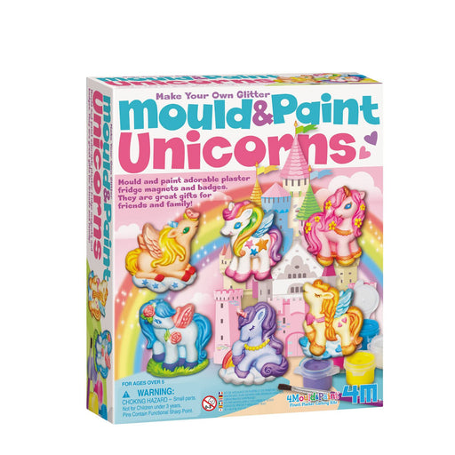 4M 4984 Unicorns Mold & Paint Kit