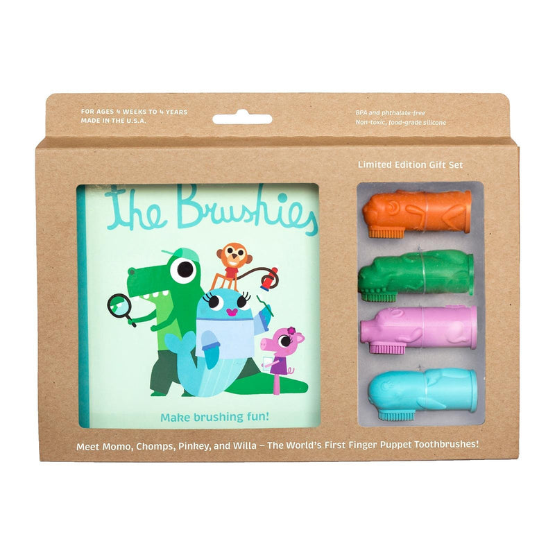 The Brushies Limited Edition Story Book And 4 Brushies Toothbrush - TOYTAG
