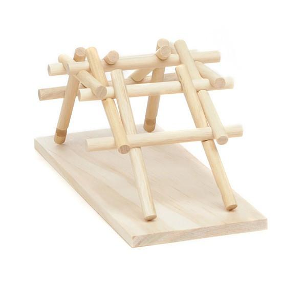 Da Vinci's Wooden Bridge Kit - TOYTAG
