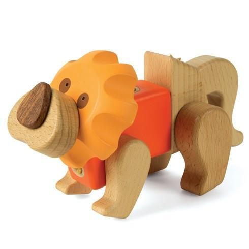 EQB Lion - ZOO Series - TOYTAG