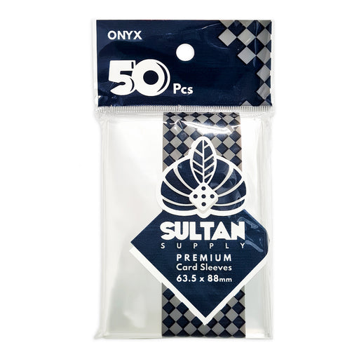 Sultan Card Sleeves: ONYX Standard Card