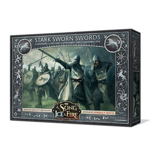 A Song of Ice and Fire: Stark Sworn Swords Unit Box - TOYTAG