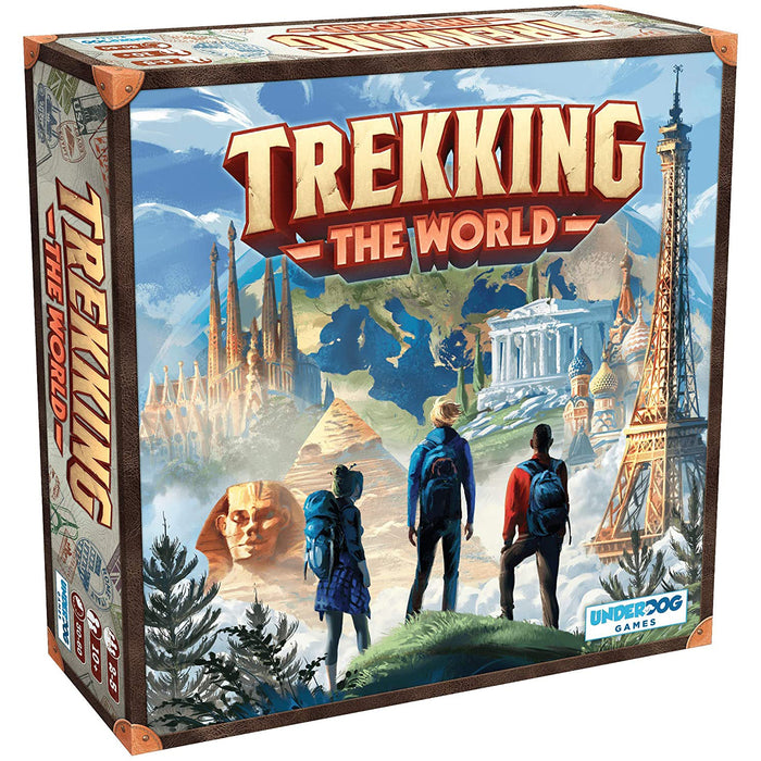 Trekking the World: Globetrotting Board Game (Kickstarter Edition)