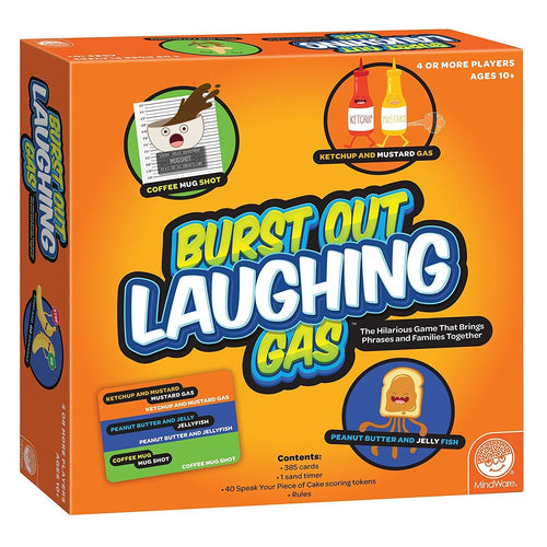 Burst Out Laughing Gas