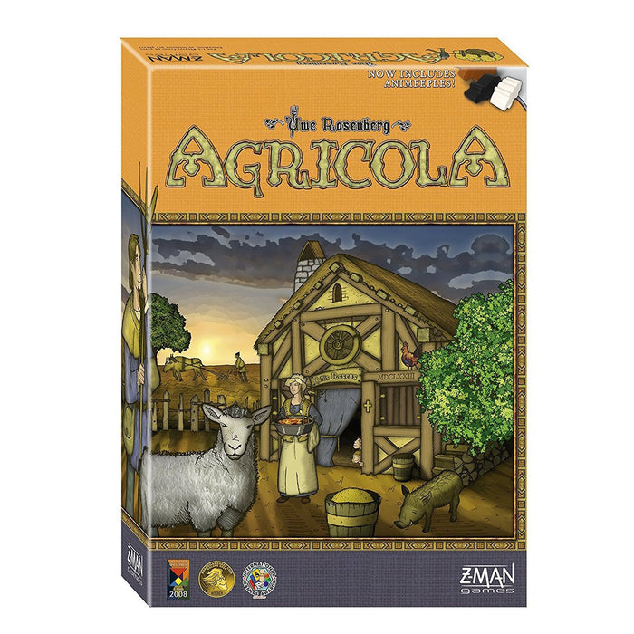 Agricola (Revised Edition) Board Game - TOYTAG