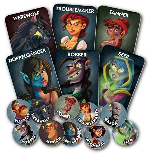 Ultimate Werewolf: One Night - TOYTAG
