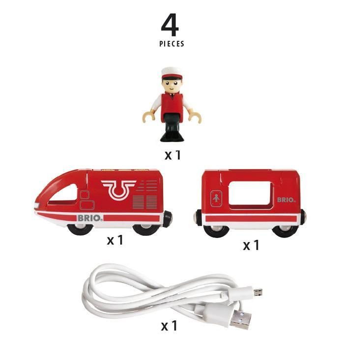 Travel Rechargeable Train - TOYTAG