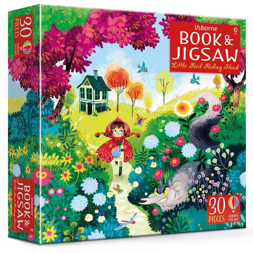 Little Red Riding Hood Jigsaw and Picture Book - TOYTAG
