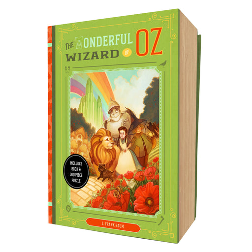 The Wonderful Wizard of Oz Book and Puzzle Box Set