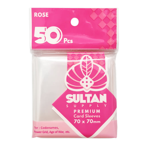 Sultan Card Sleeves: ROSE