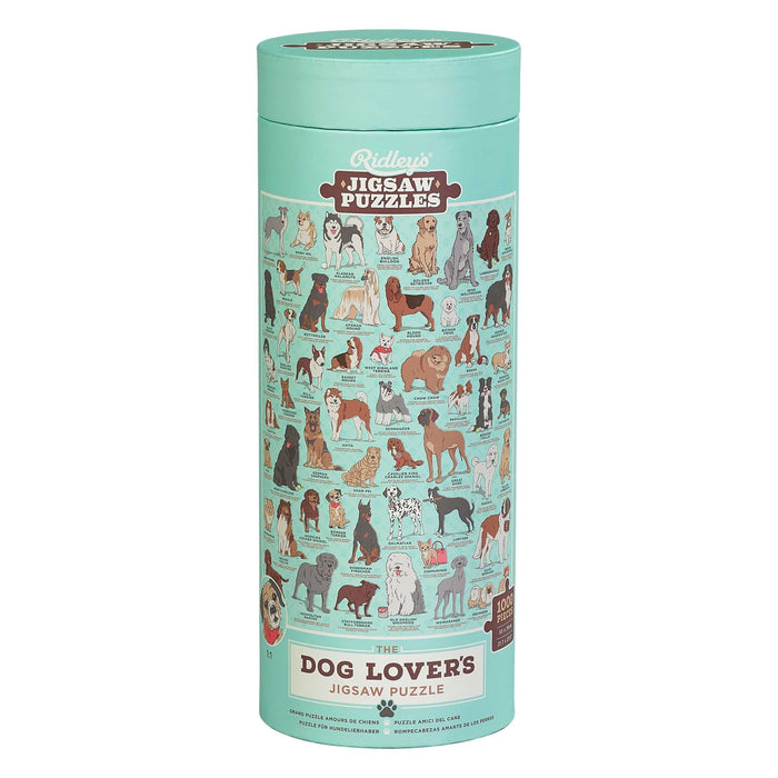 Dog Lover's 1000 pc Jigsaw Puzzle - TOYTAG