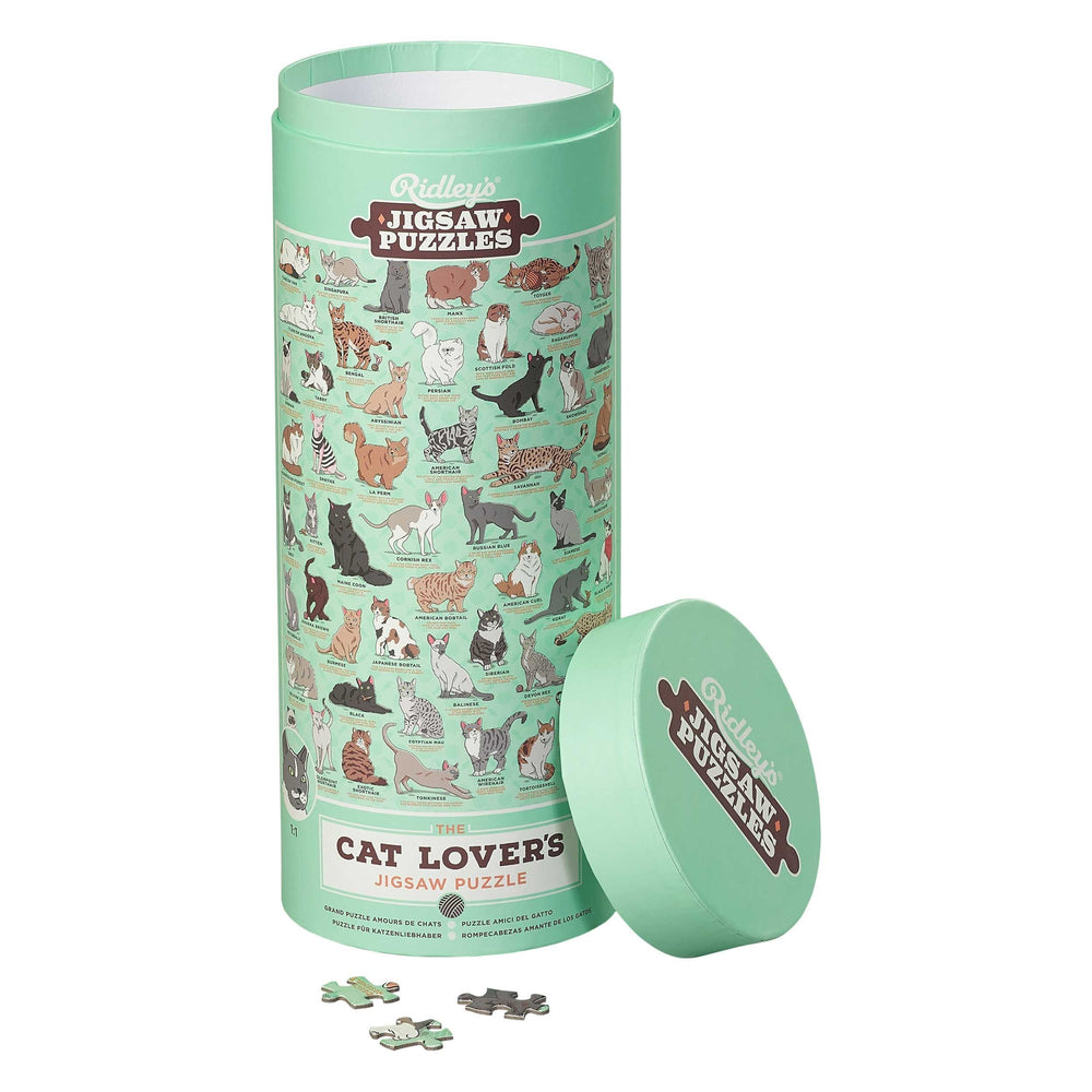 Cat Lover's 1000 pc Jigsaw Puzzle - TOYTAG