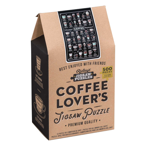 Coffee Lover's 500 pc Jigsaw Puzzle - TOYTAG