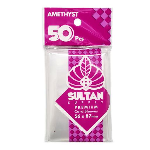 Sultan Card Sleeves: AMETHYST