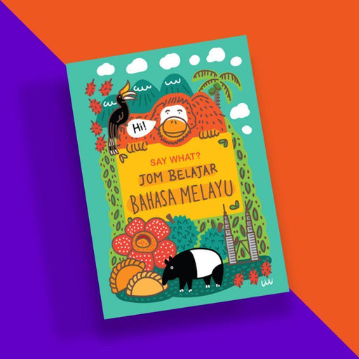 SAY WHAT? Learn Bahasa Melayu Playing Cards