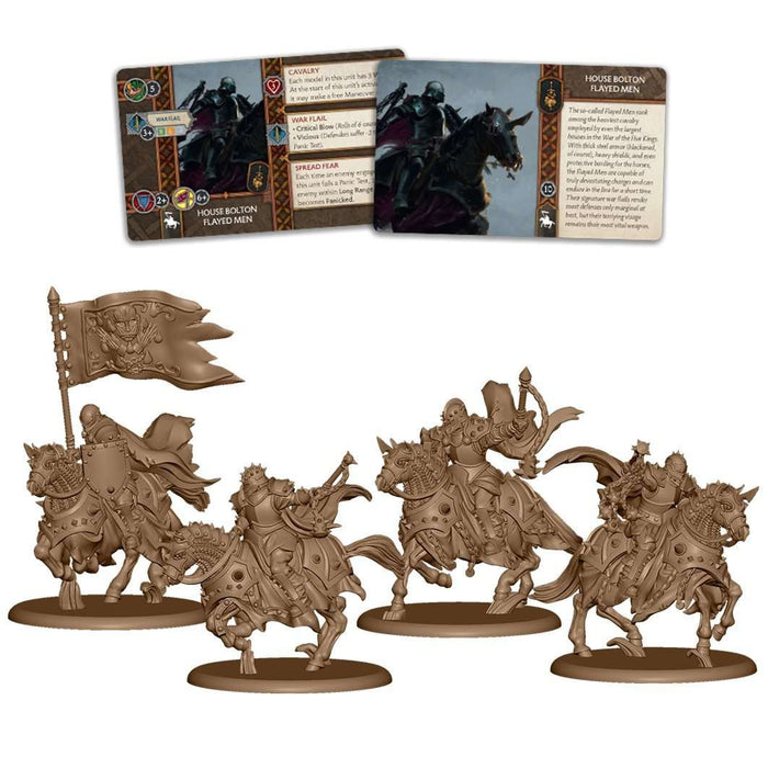 A Song of Ice and Fire: Bolton Flayed Men Unit Box - TOYTAG