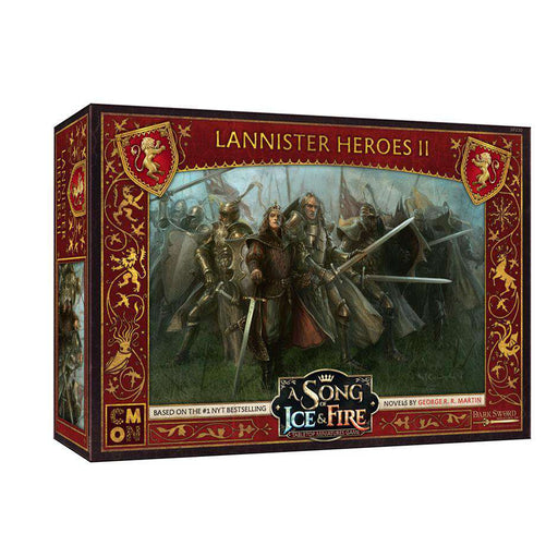 A Song of Ice and Fire: Lannister Heroes 2 Unit Box - TOYTAG