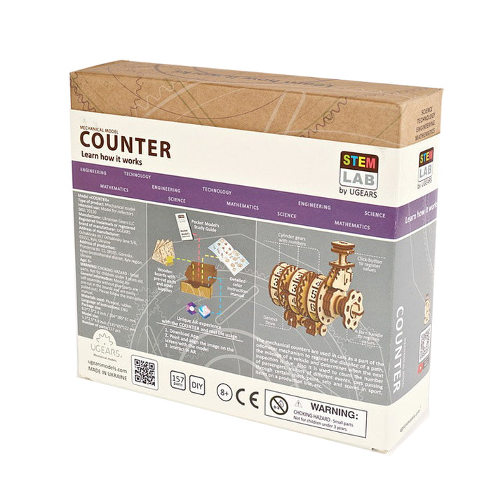 UGEARS STEM lab - Counter