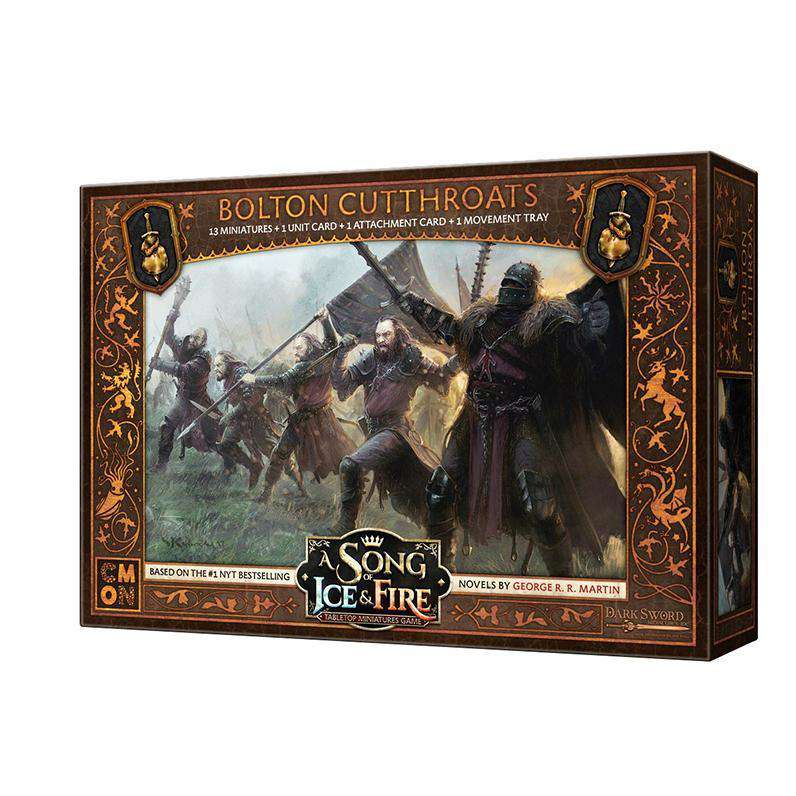 A Song of Ice and Fire: Bolton Cutthroats Unit Box - TOYTAG