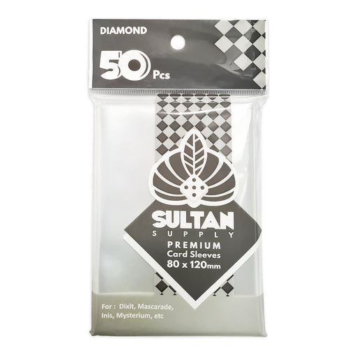 Sultan Card Sleeves: DIAMOND