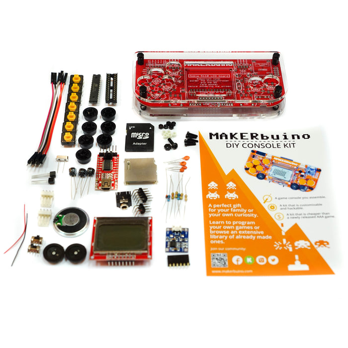 MAKERbuino - a DIY game console