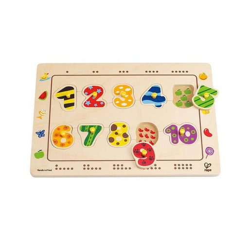 Numbers Matching Puzzle - TOYTAG