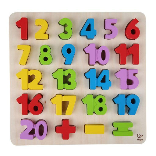 Numbers Puzzle - TOYTAG
