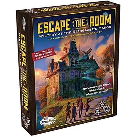 Escape the Room Stargazer's Manor Board Game - TOYTAG