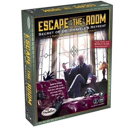 Escape The Room Secret of Dr Gravely's Retreat Board Game - TOYTAG