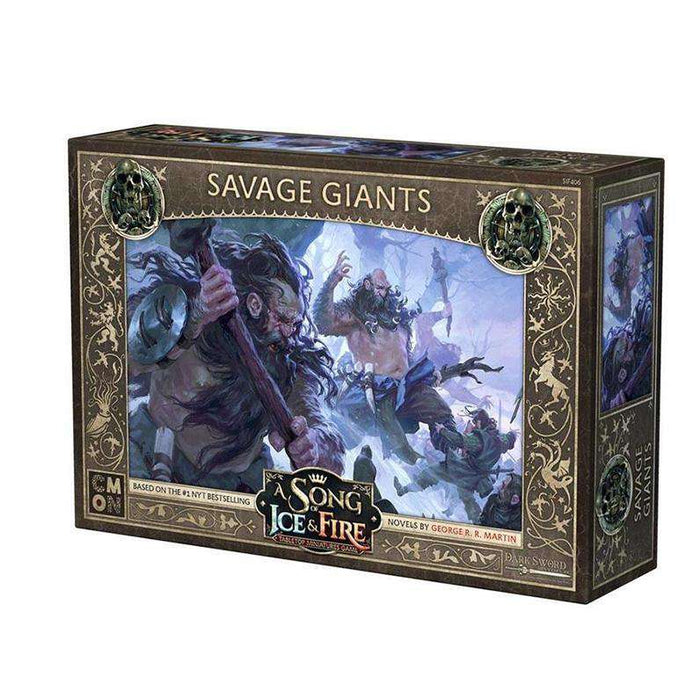 A Song of Ice and Fire: Free Folk Savage Giants Unit Box - TOYTAG